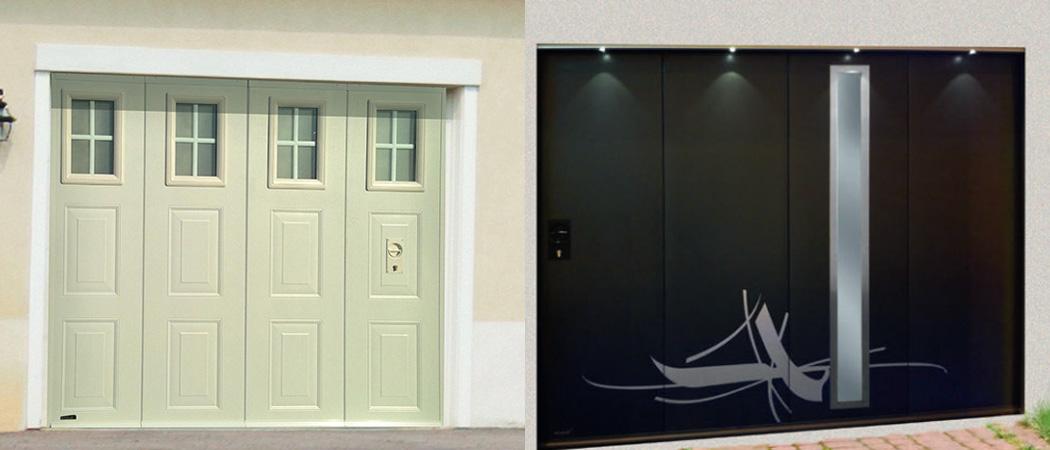 portes de garage sectionnelle lat rale france ouvertures. Black Bedroom Furniture Sets. Home Design Ideas